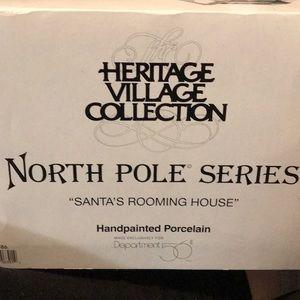 North Pole series Santa's rooming house